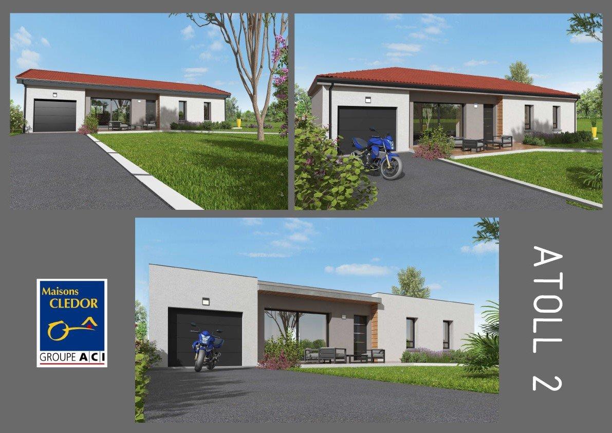 Maisons du constructeur MAISONS CLEDOR • 90 m² • MAZAYE