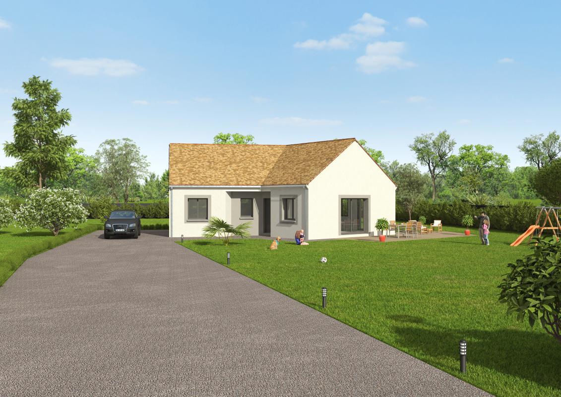Maisons + Terrains du constructeur GROUPE DIOGO FERNANDES • 86 m² • SAINT AUBIN DES BOIS