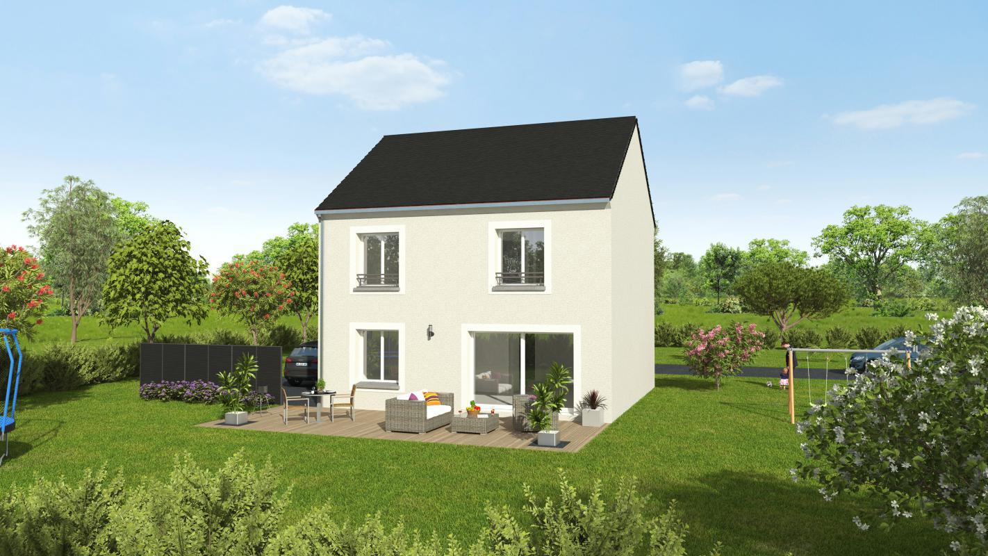 Maisons + Terrains du constructeur GROUPE DIOGO FERNANDES • 114 m² • DREUX