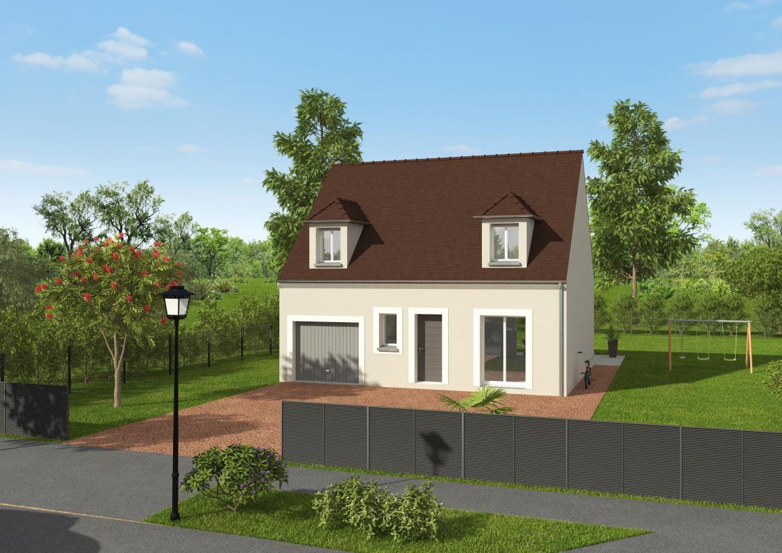 Maisons + Terrains du constructeur GROUPE DIOGO FERNANDES • 95 m² • TREMBLAY LES VILLAGES