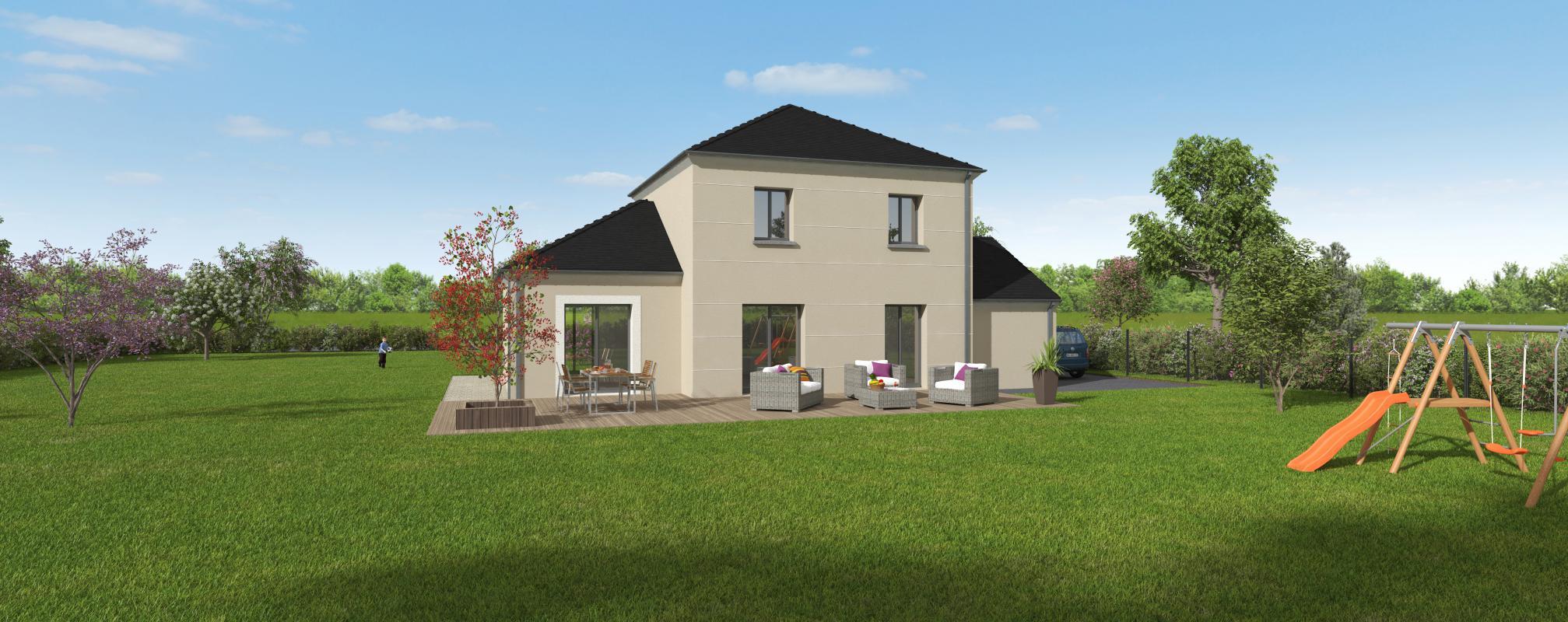 Maisons + Terrains du constructeur GROUPE DIOGO FERNANDES • 111 m² • VERNOUILLET