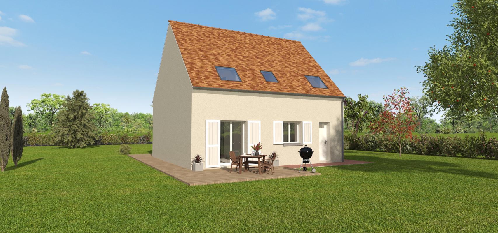 Maisons + Terrains du constructeur GROUPE DIOGO FERNANDES • 95 m² • HOUVILLE LA BRANCHE