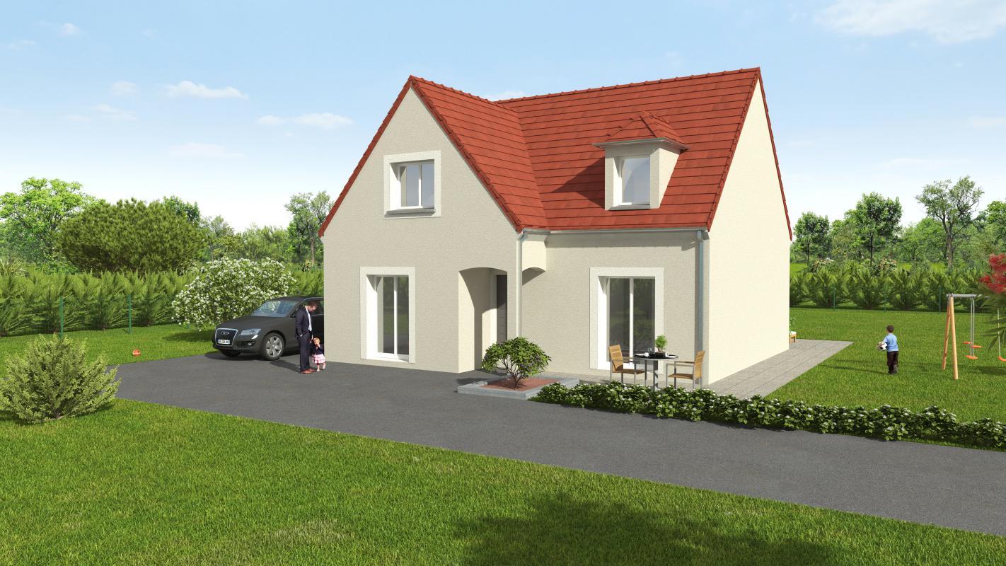 Maisons + Terrains du constructeur GROUPE DIOGO FERNANDES • 120 m² • FONTAINE LA GUYON