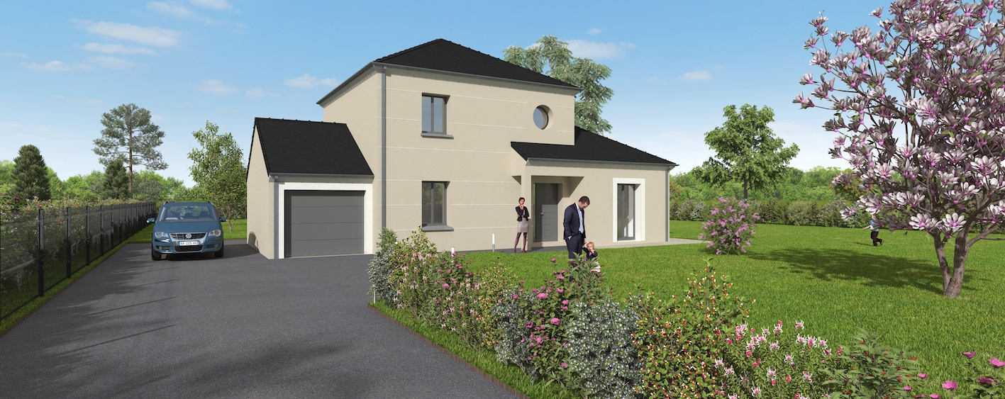 Terrains du constructeur GROUPE DIOGO FERNANDES • 673 m² • SAINT GEORGES SUR EURE