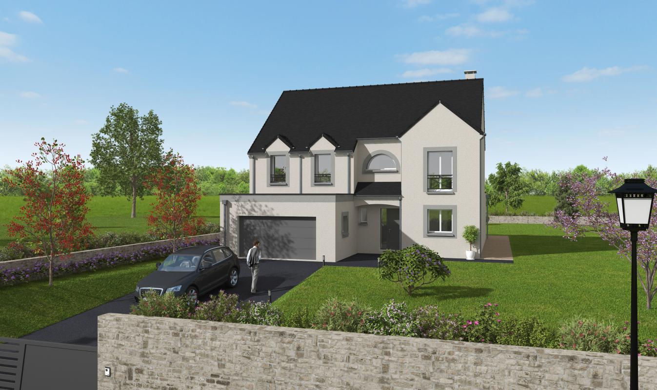 Terrains du constructeur GROUPE DIOGO FERNANDES • 1170 m² • LOUVILLIERS EN DROUAIS