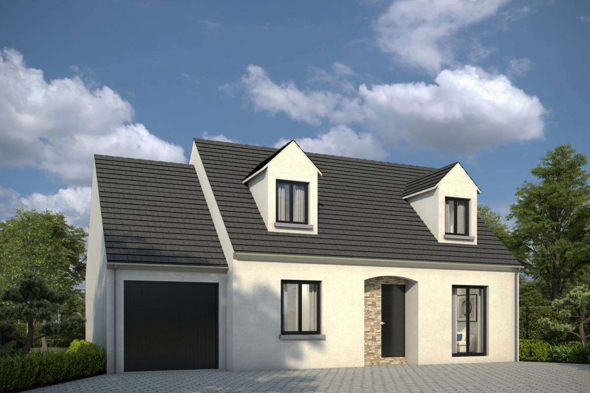 Maisons + Terrains du constructeur GROUPE DIOGO FERNANDES • 97 m² • CHERISY