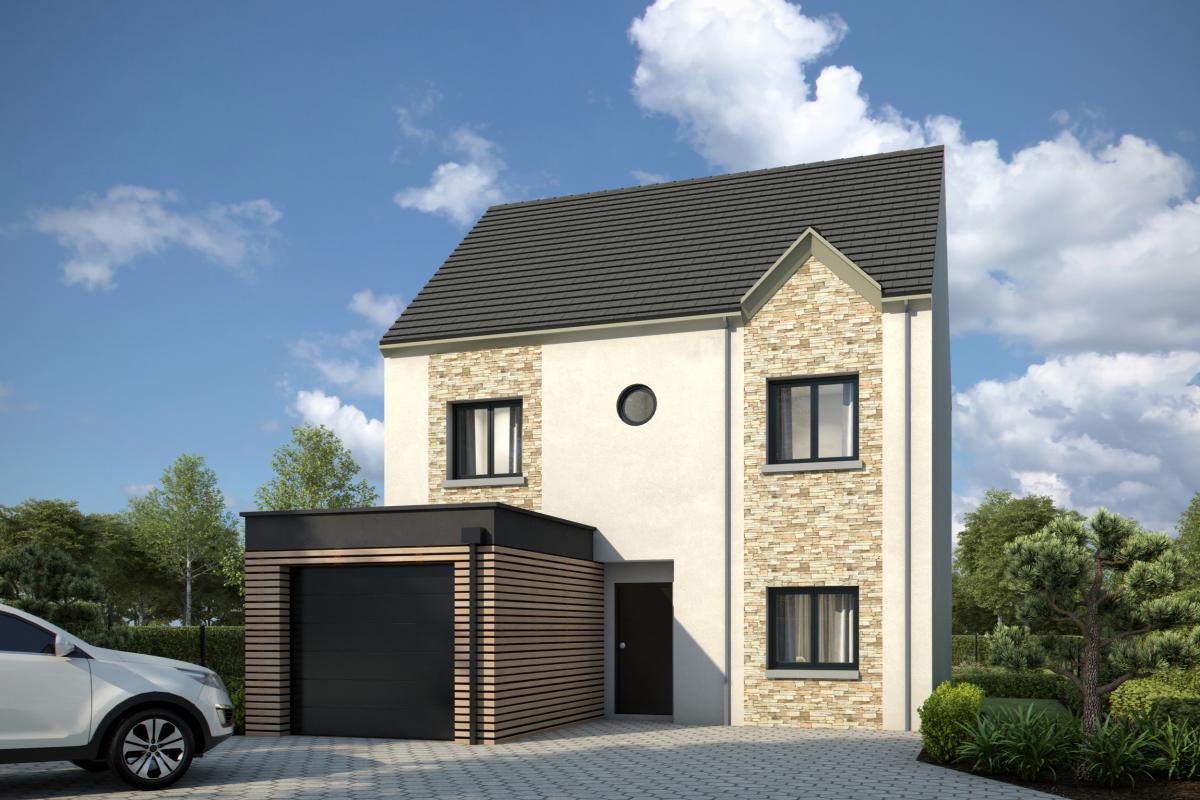 Maisons + Terrains du constructeur GROUPE DIOGO FERNANDES • 100 m² • NOGENT LE ROI