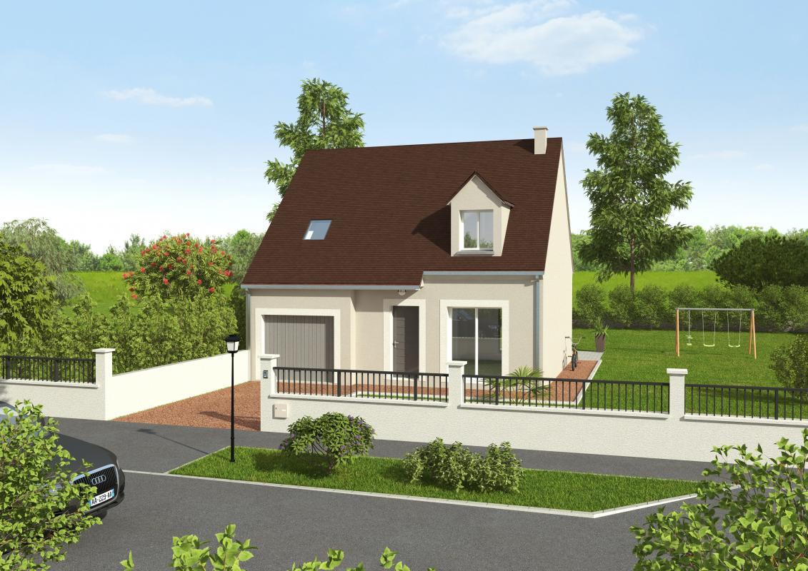 Maisons + Terrains du constructeur GROUPE DIOGO FERNANDES • 90 m² • BERCHERES SAINT GERMAIN