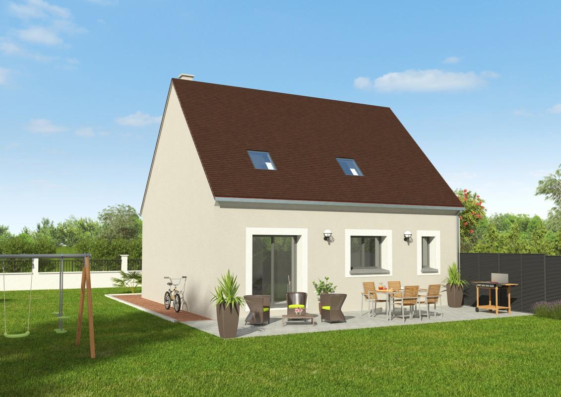 Maisons + Terrains du constructeur GROUPE DIOGO FERNANDES • 90 m² • BROU