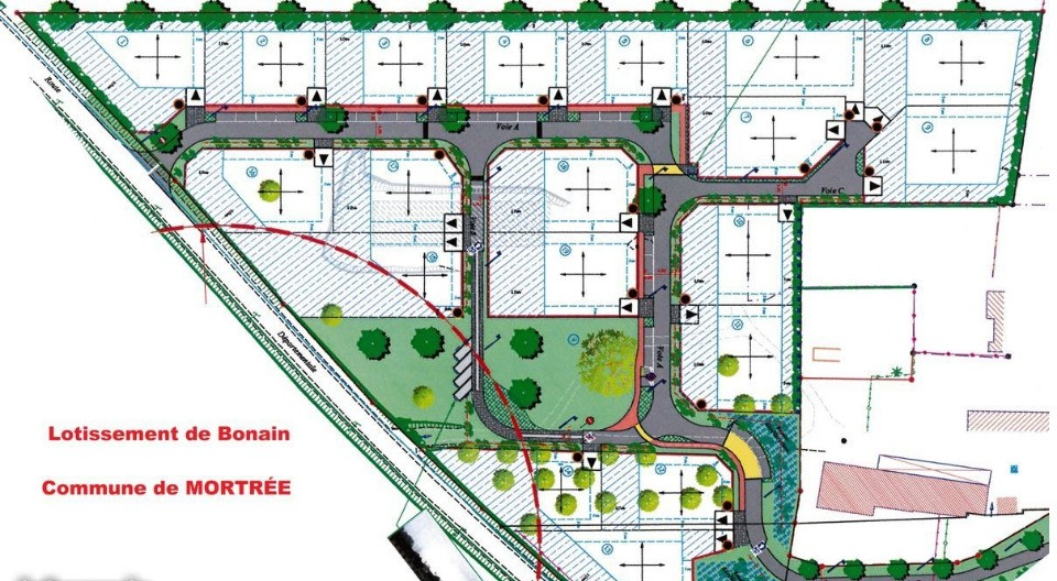 Terrains du constructeur MAISONS FRANCE CONFORT • 703 m² • MORTREE