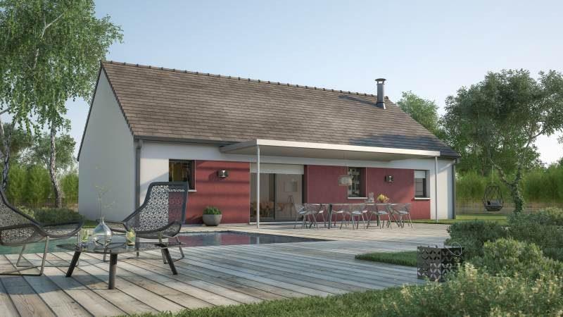Maisons + Terrains du constructeur MAISONS FRANCE CONFORT • 93 m² • LE CHATEAU D'ALMENECHES