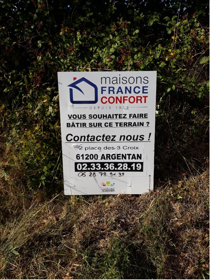 Terrains du constructeur MAISONS FRANCE CONFORT • 897 m² • COUTERNE