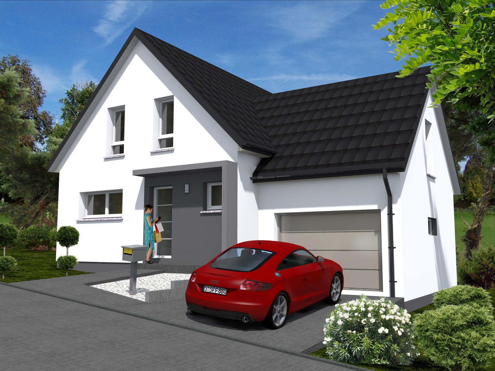 Maisons du constructeur LYCENE •  m² • UFFHEIM