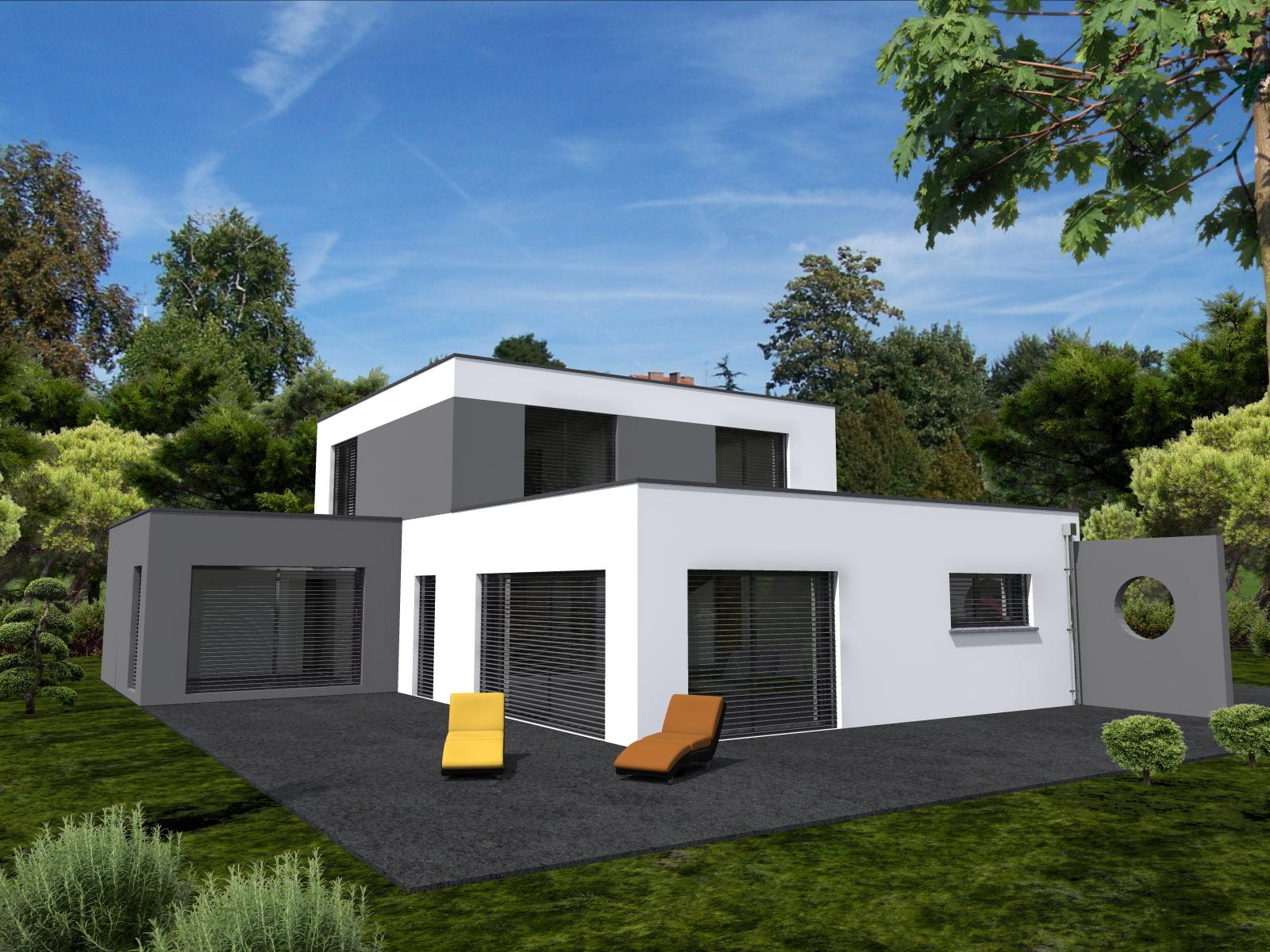 Maisons du constructeur LYCENE • 185 m² • MUESPACH LE HAUT