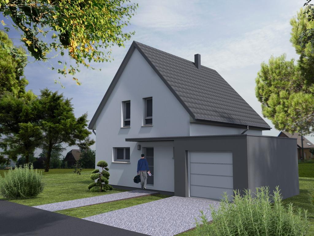 Maisons du constructeur LYCENE • 110 m² • MUNCHHOUSE