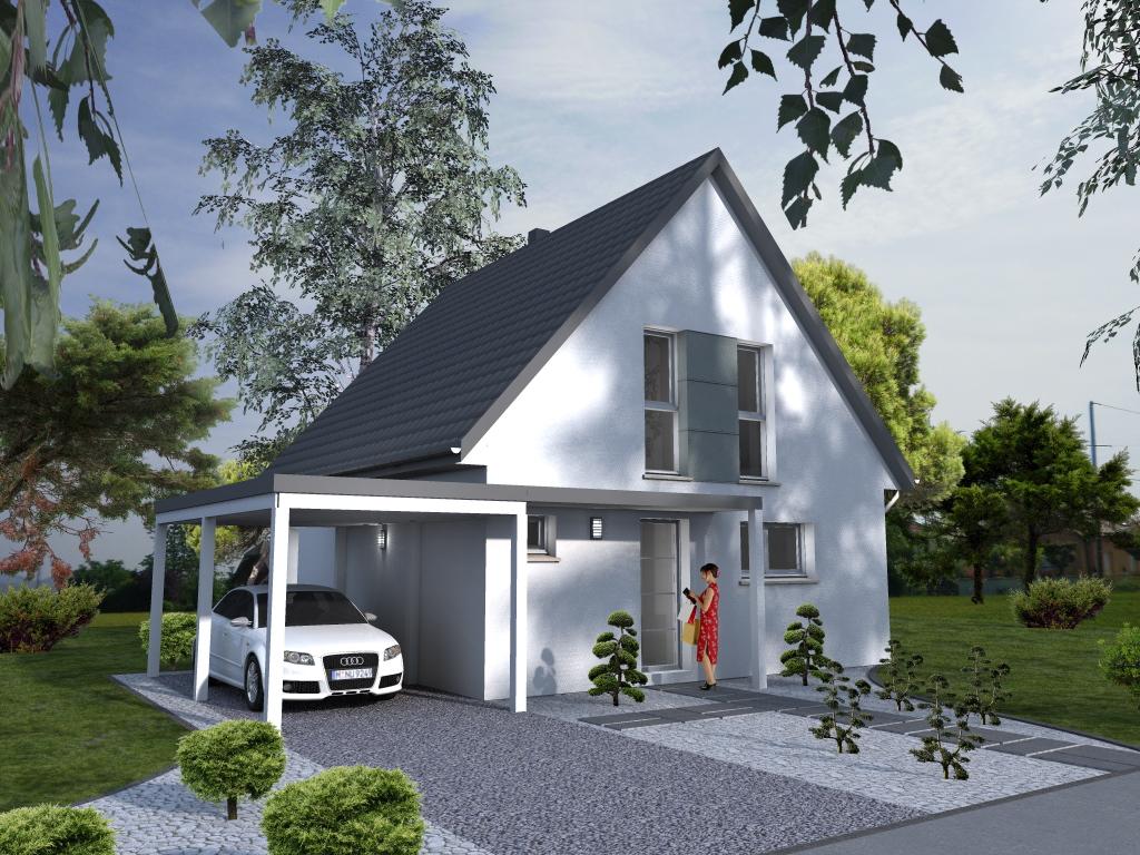 Maisons du constructeur LYCENE • 90 m² • MUNCHHOUSE