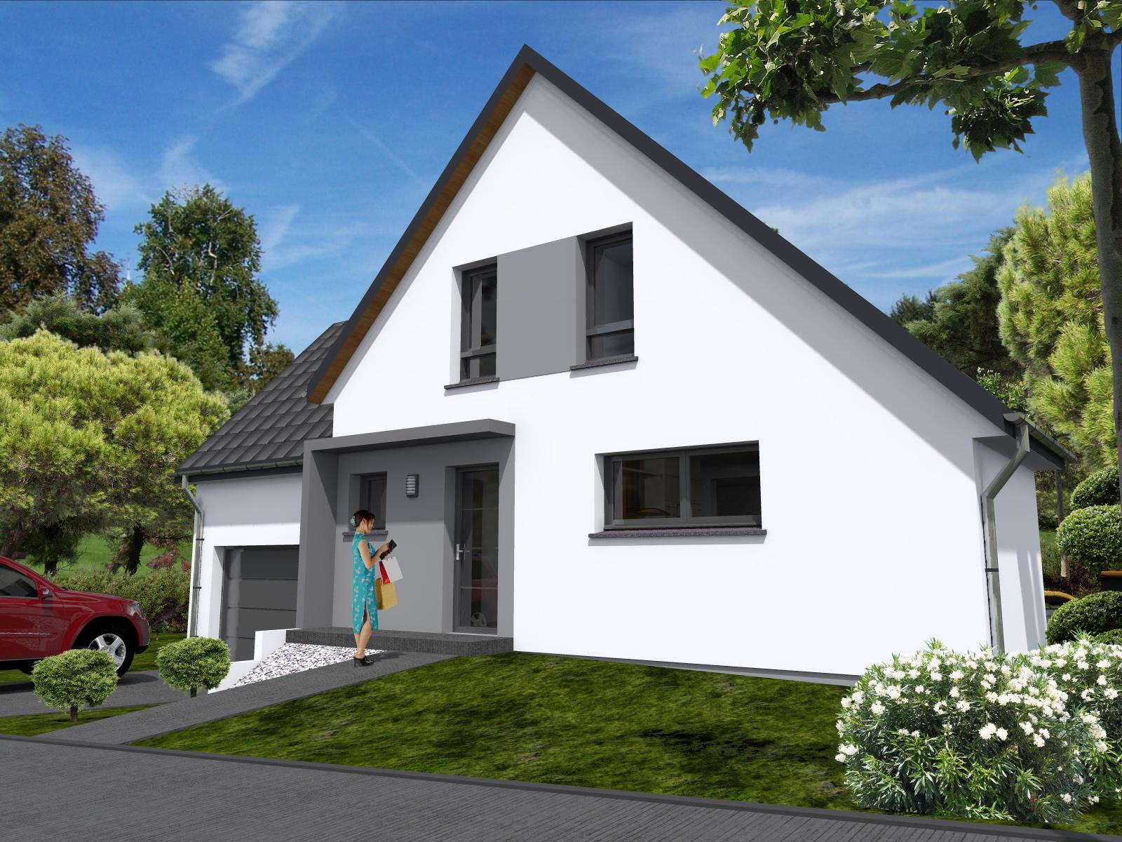 Maisons du constructeur LYCENE • 109 m² • DIEFMATTEN