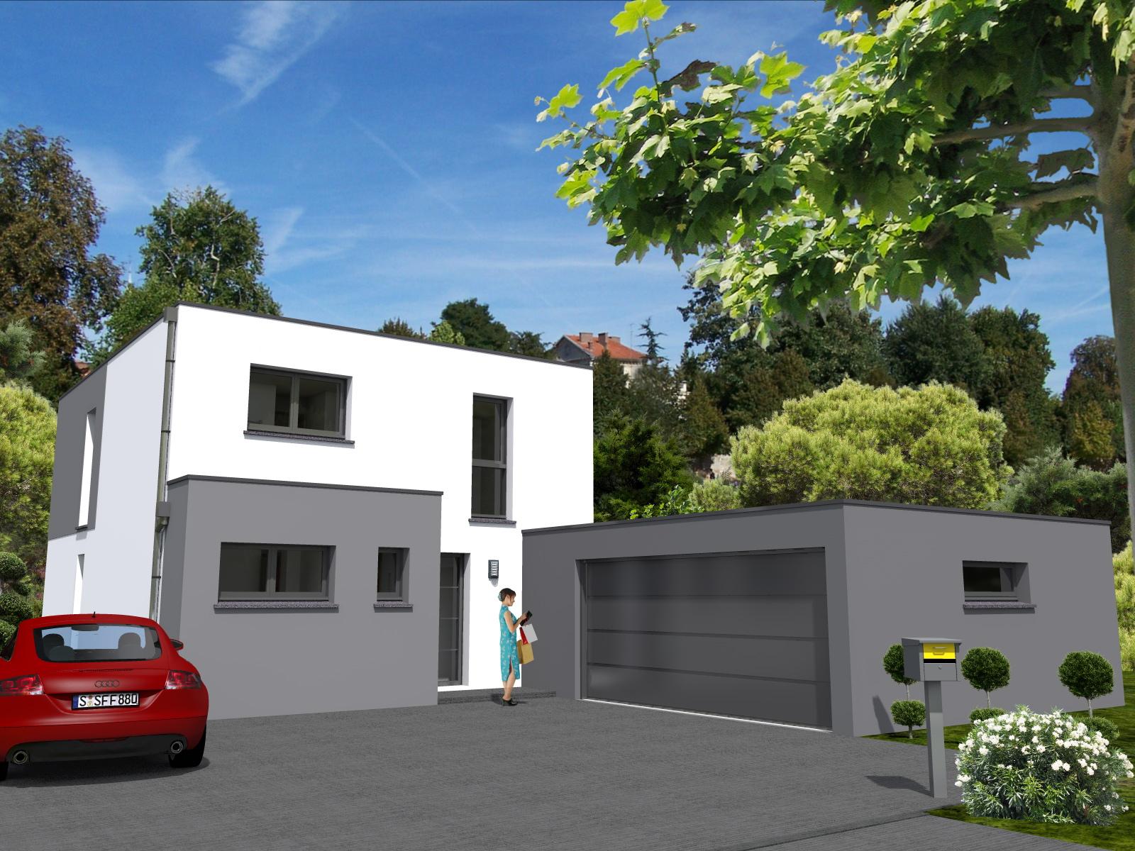 Maisons du constructeur LYCENE • 100 m² • DIEFMATTEN