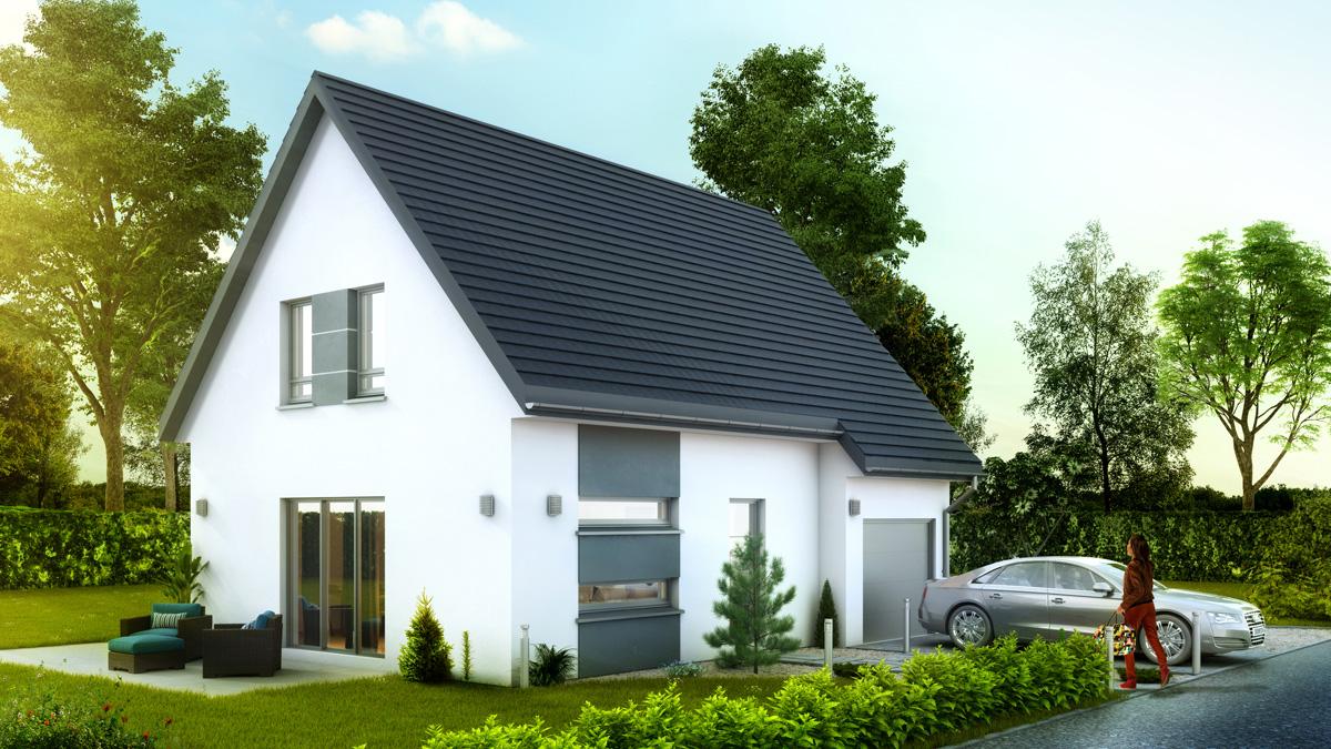 Maisons du constructeur LYCENE • 86 m² • BANTZENHEIM
