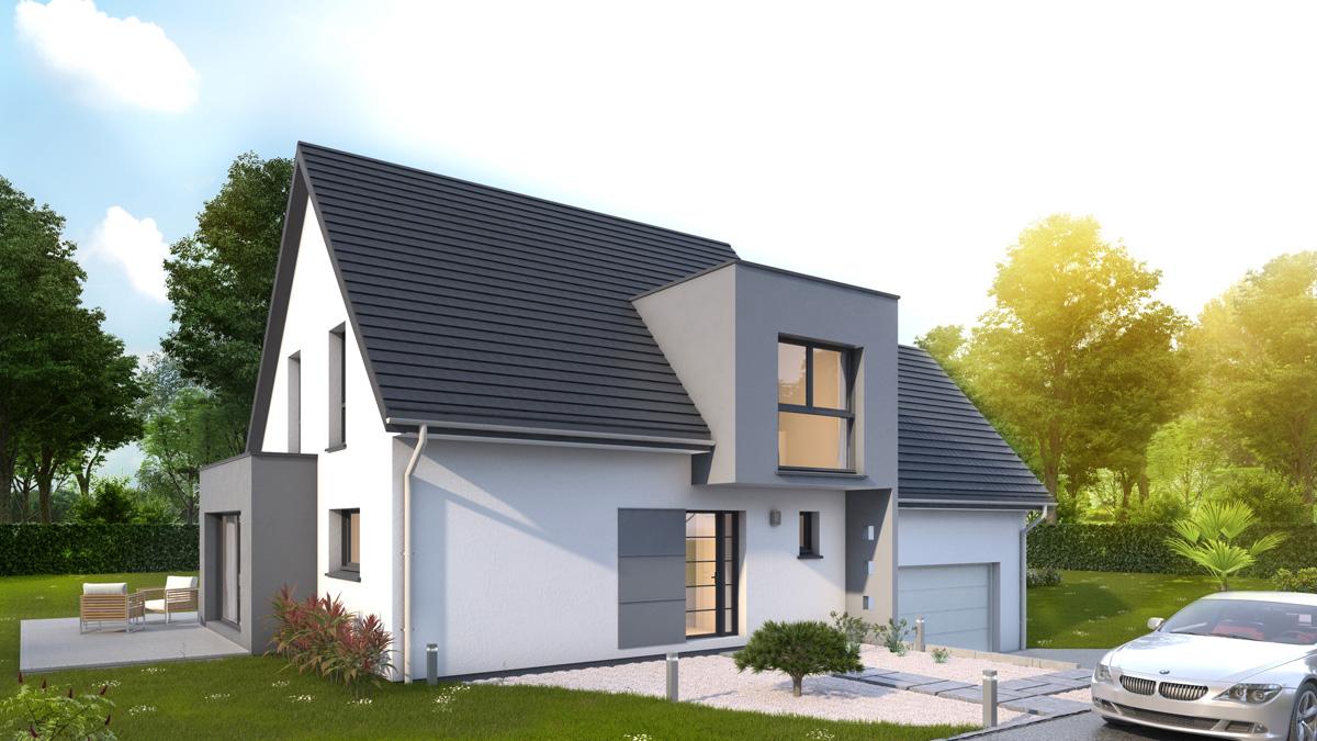 Maisons du constructeur LYCENE • 146 m² • SENTHEIM