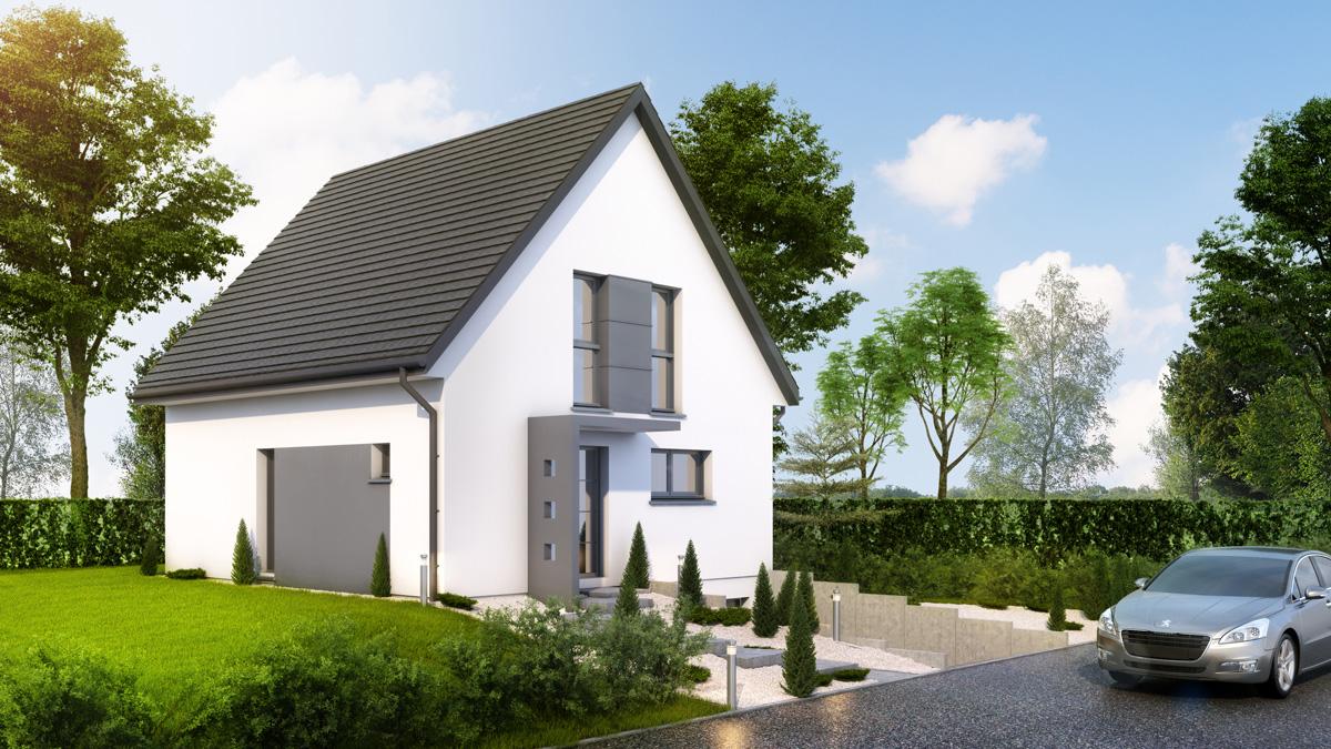 Maisons du constructeur LYCENE • 108 m² • HECKEN