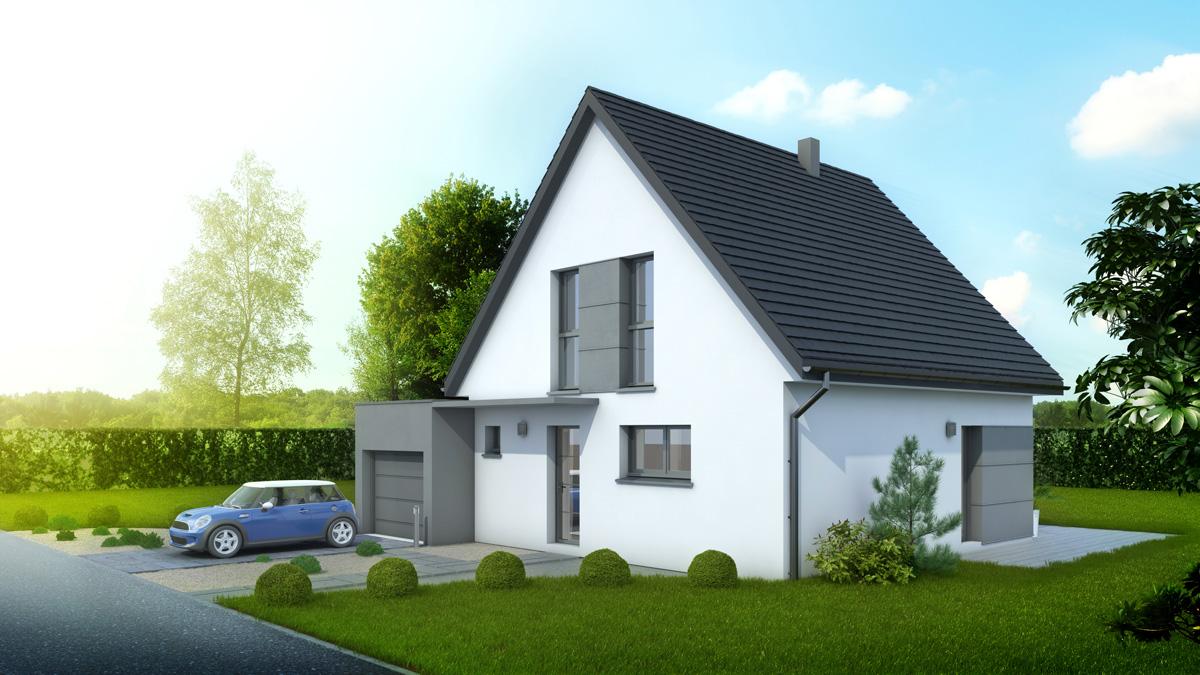 Maisons du constructeur LYCENE • 104 m² • PFASTATT