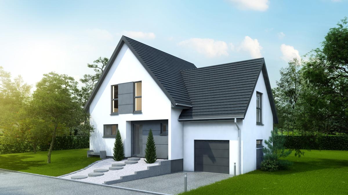 Maisons du constructeur LYCENE • 126 m² • BANTZENHEIM