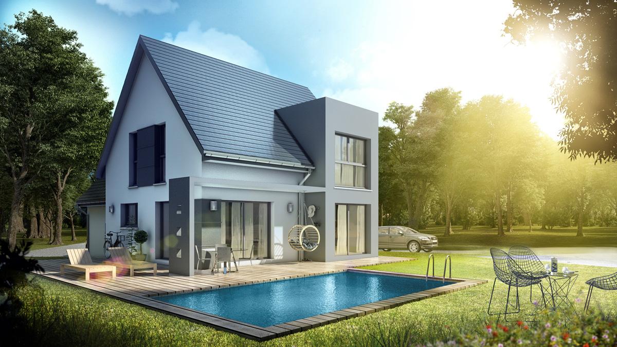 Maisons du constructeur LYCENE • 140 m² • RETZWILLER