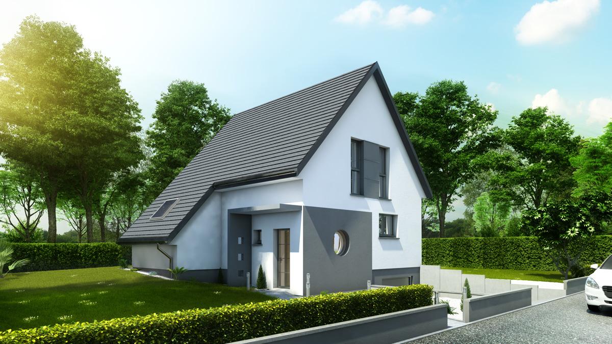Maisons du constructeur LYCENE • 114 m² • HIRSINGUE