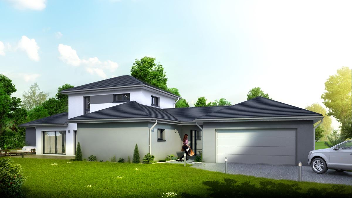 Maisons du constructeur LYCENE • 145 m² • ILLFURTH