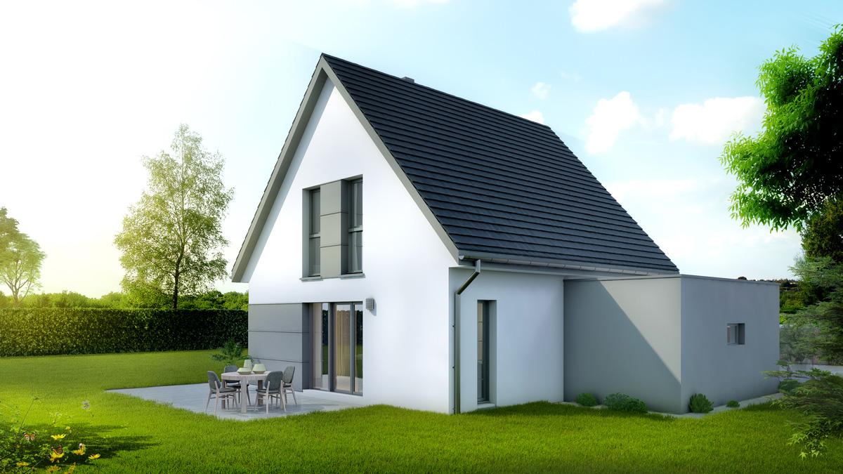 Maisons du constructeur LYCENE • 100 m² • RETZWILLER