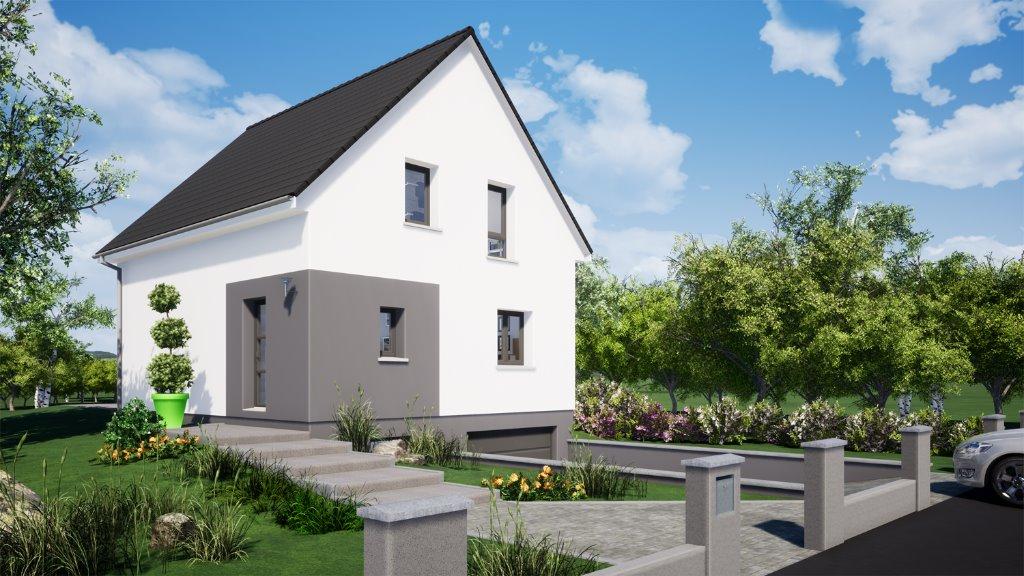 Maisons du constructeur EUROMAISONS • 100 m² • UFFHEIM