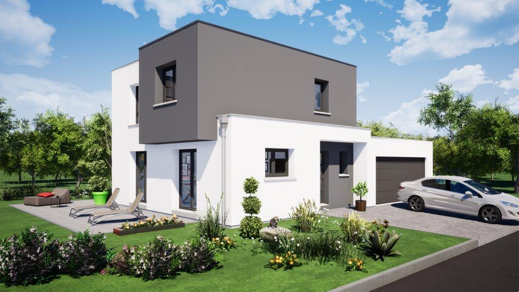 Maisons du constructeur EUROMAISONS • 100 m² • BRUEBACH
