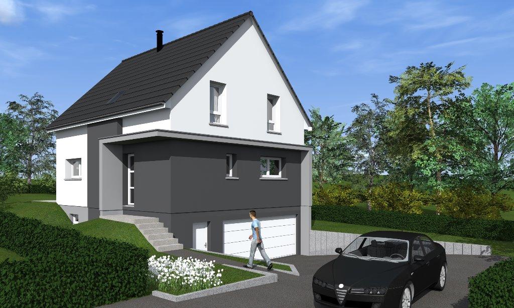 Maisons du constructeur EUROMAISONS • 125 m² • MICHELBACH LE HAUT