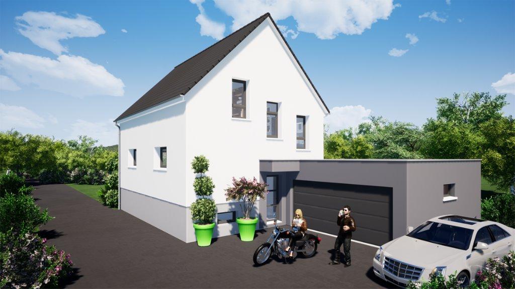 Maisons du constructeur EUROMAISONS • 115 m² • ROSENAU