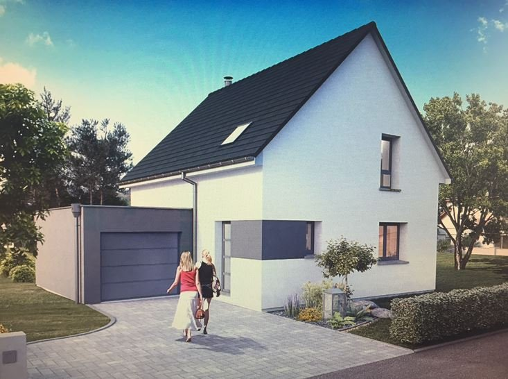 Maisons du constructeur EUROMAISONS • 100 m² • BLOTZHEIM