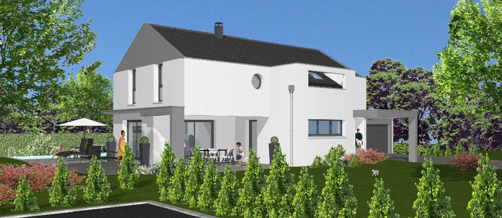 Maisons du constructeur EUROMAISONS • 160 m² • LEYMEN