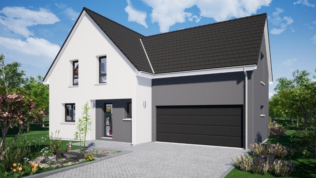 Maisons du constructeur EUROMAISONS • 132 m² • HAGENTHAL LE HAUT