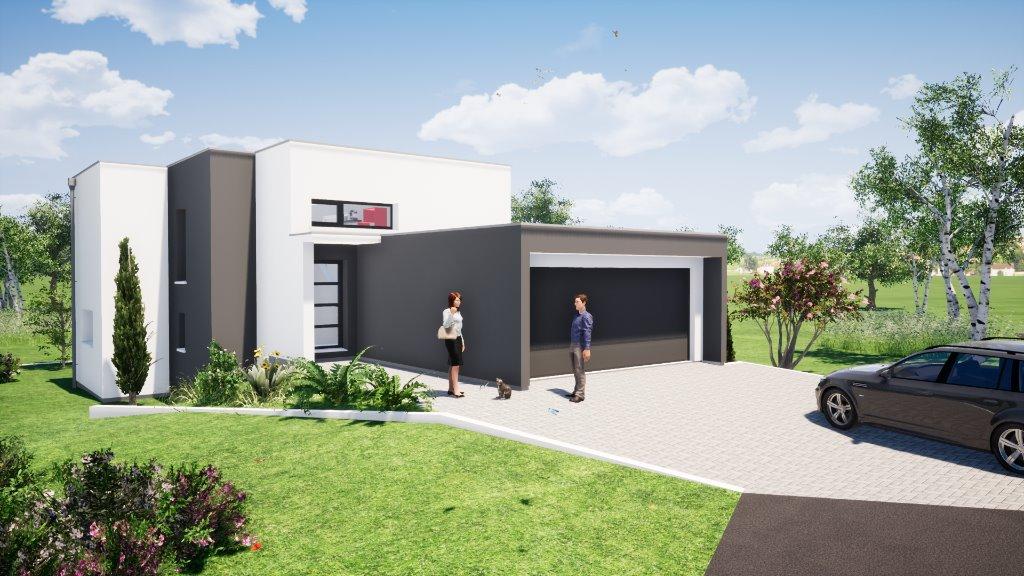 Maisons du constructeur EUROMAISONS • 125 m² • SAINT LOUIS