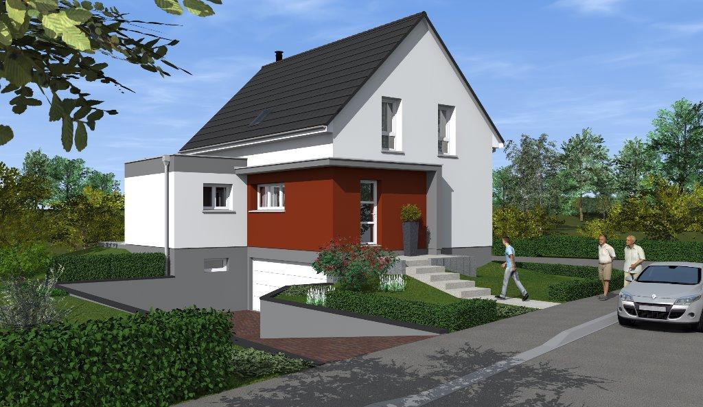 Maisons du constructeur EUROMAISONS • 115 m² • UFFHEIM