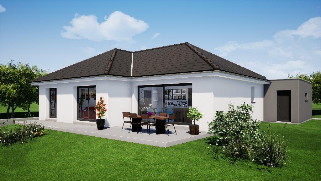 Maisons du constructeur EUROMAISONS • 100 m² • HABSHEIM
