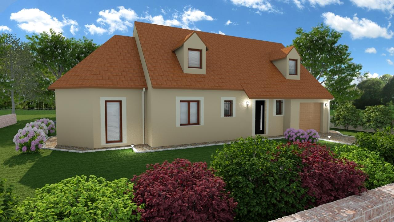 Terrains du constructeur MAISONS SERCPI • 1200 m² • SAINT MARTIN D'AUXIGNY