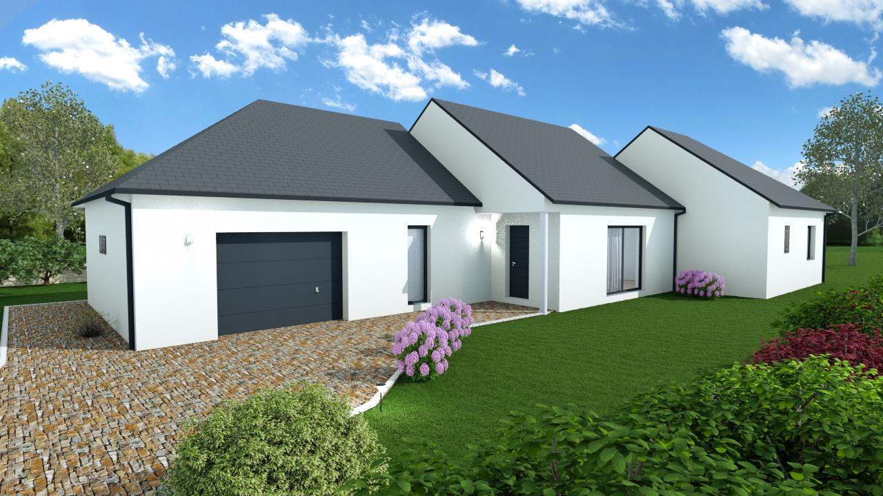 Terrains du constructeur MAISONS SERCPI • 890 m² • SAINT ELOY DE GY