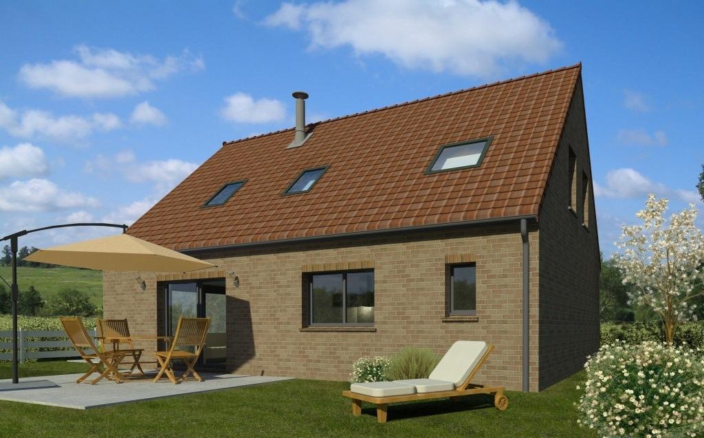 Maisons + Terrains du constructeur MAISON FAMILIALE • 109 m² • FROMELLES