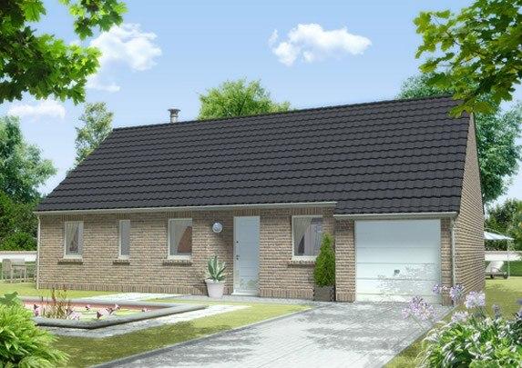 Maisons + Terrains du constructeur MAISON FAMILIALE • 100 m² • VILLENEUVE D'ASCQ