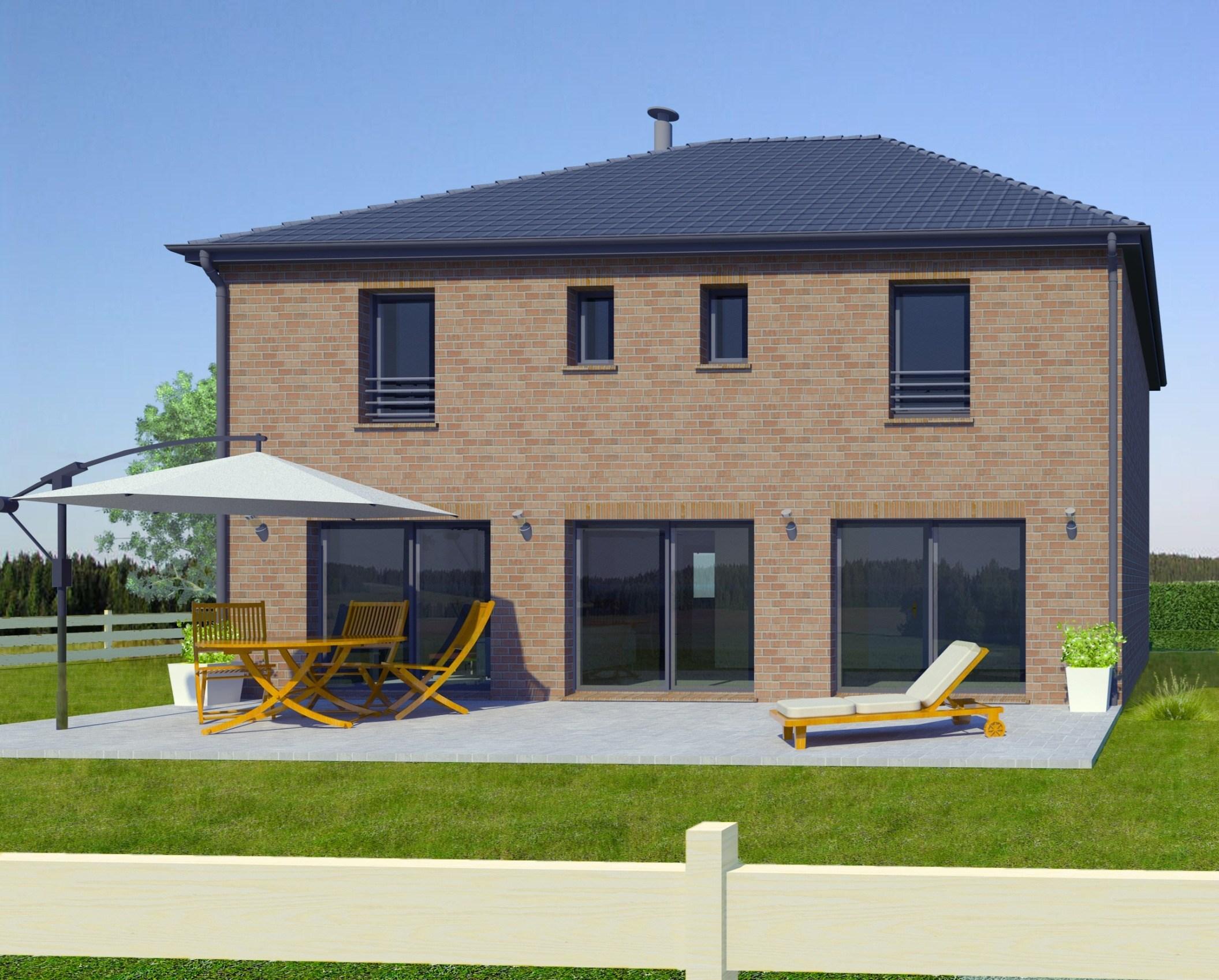 Maisons + Terrains du constructeur MAISON FAMILIALE • 156 m² • NOMAIN