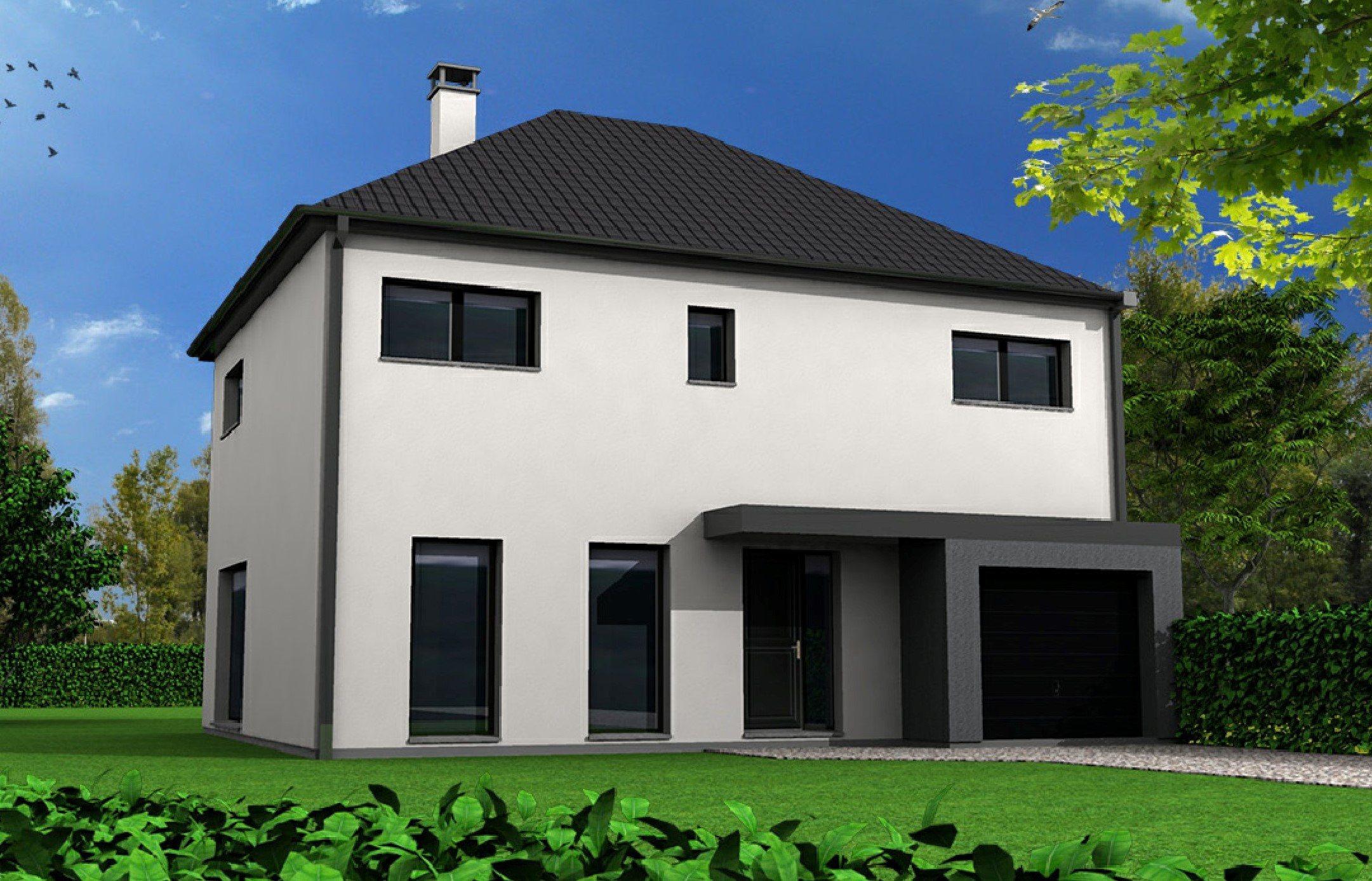 Maisons + Terrains du constructeur MAISON FAMILIALE • 128 m² • NEUF BERQUIN