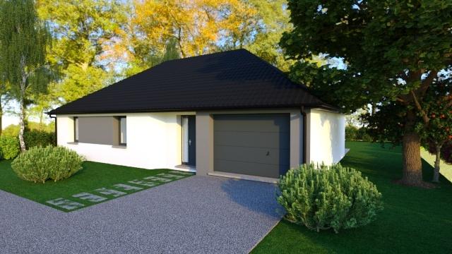 Maisons + Terrains du constructeur MAISON FAMILIALE • 90 m² • ILLIES