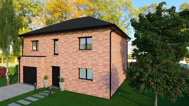 Maisons + Terrains du constructeur MAISON FAMILIALE • 128 m² • LA BASSEE
