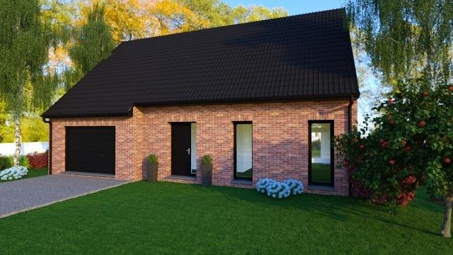 Maisons + Terrains du constructeur MAISON FAMILIALE • 120 m² • CYSOING